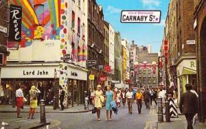 1960 Carnaby Street  Londra