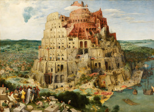 Pieter Bruegel, Torre di Babele, 1563