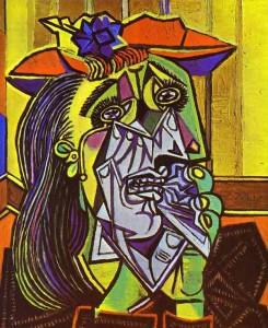 Picasso, la donna che piange, 1933