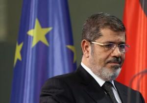 l'ex presidente Morsi