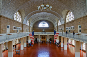 Ellis Island, Great Hall, anni 2000