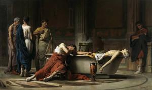 Manuel Domìnguez Santos,La morte di Seneca,Prado,Madrid