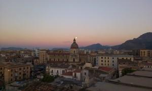 L'Albergheria vista dall'alto dalla Torre di San Nicolò (foto Dell'Orzo)