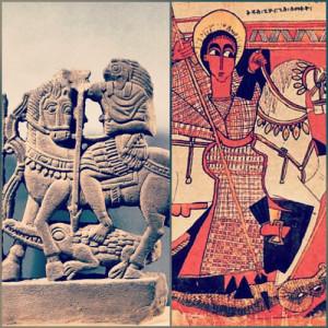 Horus (IV sec.a.C.)_ S. Giorgio (XVII sec.)