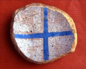 Frammento di ceramica medievale - Palazzo di Baldu (Luogosanto - Sardegna)