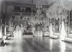Il salone da ballo della villa Butera-Wilding all'Olivuzza