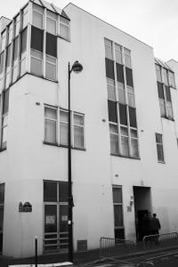 Sede della redazione di Charlie Hebdo,10 di Rue Nicolas-Appert (foto Angelo)