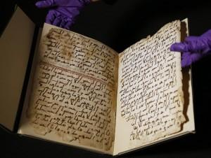 Il Corano  copia manoscritta del VII sec.
