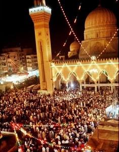 Celebrazione del compleanno del santo A_mad al-Badaw_