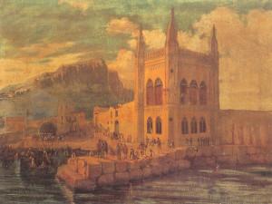 I Quattro Pizzi all'Arenella (dipinto di anonimo,1850 ca