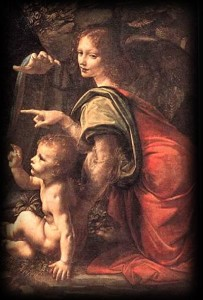 Arcangelo Uriele, di Leonardo da Vinci
