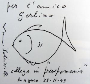 Vanni Scheiwiller, 'Presepomania' (biro, 1995)