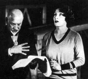 Luigi Pirandello e Marta Abba in una foto del 1928