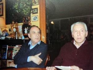 Aldo Gerbino ed Elio Pecora (foto Carla Morselli)