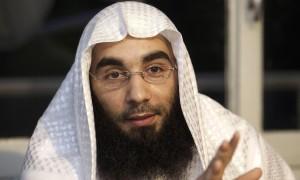 Il portavoce della Sharia 4 Belgium Fouad Belkacem, condannato a 12 anni di carcere. Foto Nicolas Maeterlinck-AFP-Getty Images