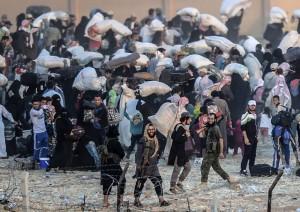 Al confine turco-siriano (foto di Kilic)