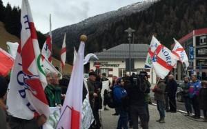 Manifestazione della Lega Nord al Brennero