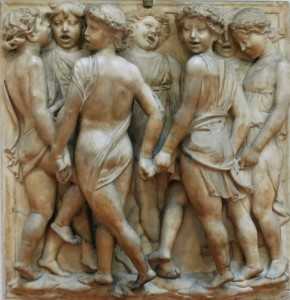 Luca della Robbia, formella dell'Ope