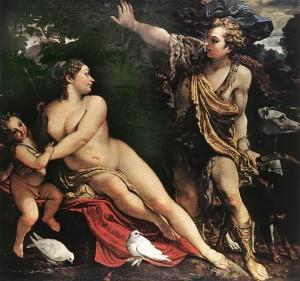 Annibale Caracci, Il mito di Venere e Adone