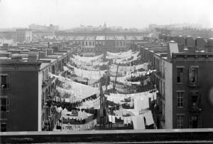 Tenements a Park Avenue, intorno ai primi del '900