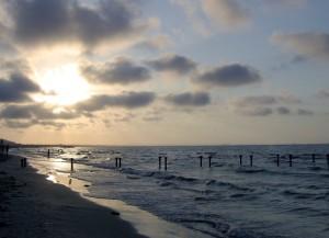 Veduta della spiaggia di Hammam el-Anf (foto Marangon)