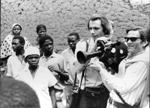 Pasolini sul set di Orestiadi africana
