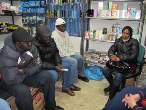 Incontro con alcuni esponenti della comunità senegalese di Catania