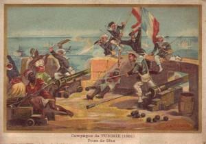 La conquista della città tunisina di Sfax (1881) nell'iconografia coloniale francese dell'epoca