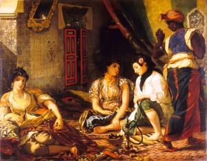 Delacroix, Donne di Algeri, 1834