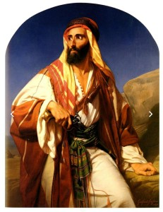 G. Godfried, A bedouin chieftain,1845