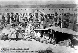 Armeni  in un campo profughi,1923