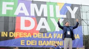 FamilY Day al circo massimo (foto Lapresse@Fabio Cimaglia)
