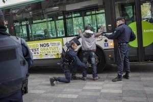 Attacco Parigi, il giorno dopo: (Foto Valentina Camu/LaPress)