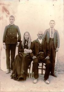 La famiglia Lussu primi 900