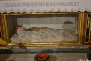 Madonna Assunta in abiti arberesh , Palazzo Adriano (foto Cucco)
