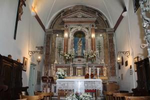 Interno Santuario Alcamo (foto Montalbano)