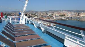 A bordo (foto Sabato)