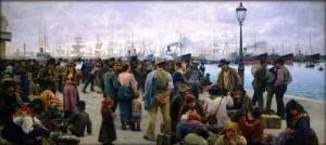 Emigranti, di Angelo Tommasi, 1896
