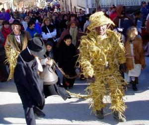 Carnevale alpino dell'Orso di segale, di Valdieri
