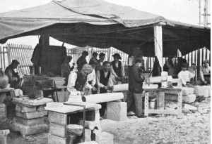 Scalpellini italiani a Tunisi 1900