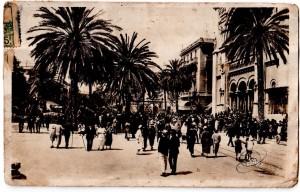 Tunisi  in una cartolina dei primi del 900