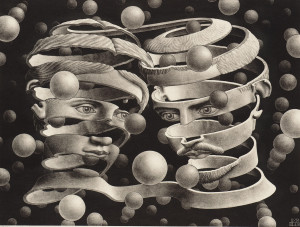 Escher, Bond of Union, 1956
