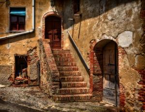 Il borgo fantasma di Toiano, in Toscana