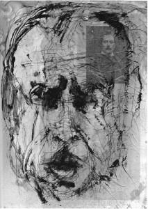 L. Sciascia, ritratto di Mario Francesconi