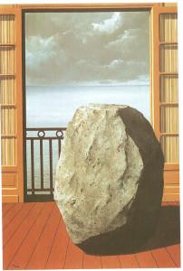 Magritte Il mondo invisibile, 1954