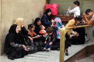 Famiglie siriane sbarcate a Palermo (foto I. Petix)
