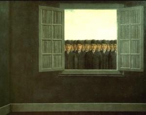 Magritte, ll mese della vendemmia, 1959