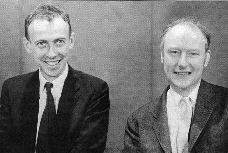 Watson and Crick discover chemical structure of DNA