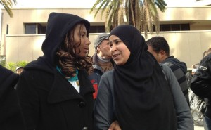 Le donne in una manifestazione a Tunisi