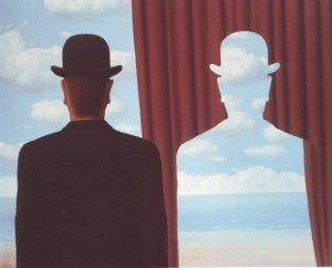 Magritte, Decalcomania, 1966